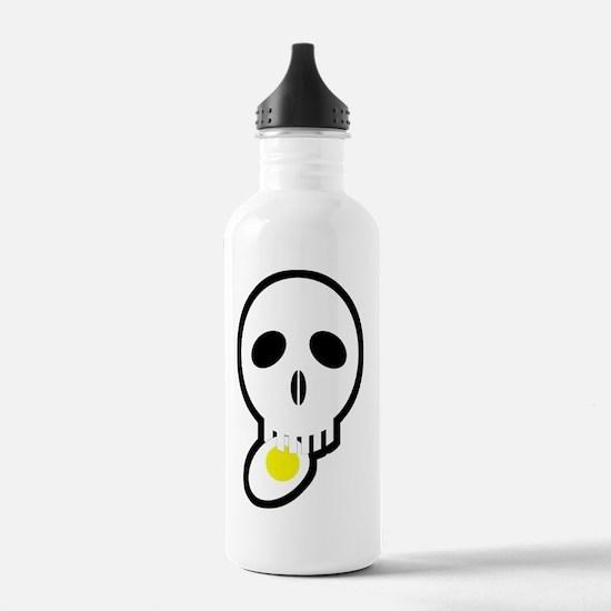 skull_egg02 Water Bottle
