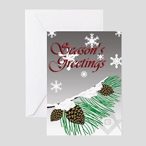 Masonic Tree Greeting Cards