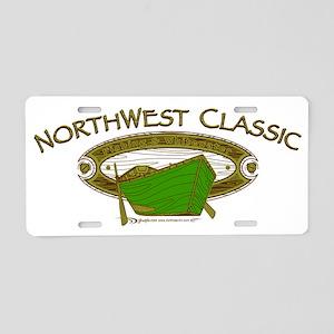 CAFE023NorthwestClassic Aluminum License Plate