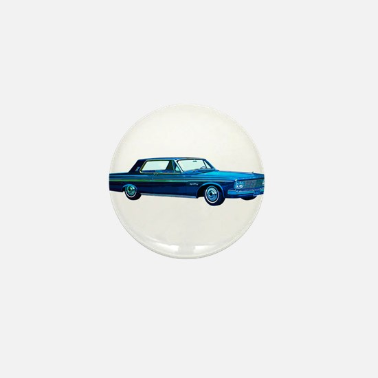1963 Plymouth Sport Fury Mini Button