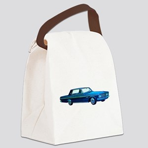 1963 Plymouth Sport Fury Canvas Lunch Bag