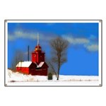 Big Red Lighthouse, Holland, MI Banner