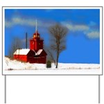 Big Red Lighthouse, Holland, MI Yard Sign