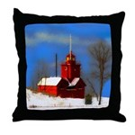 Big Red Lighthouse, Holland, MI Throw Pillow