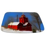 Big Red Lighthouse, Holland, MI Bathmat