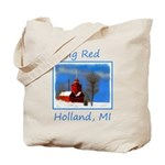 Big Red Lighthouse, Holland, MI Tote Bag