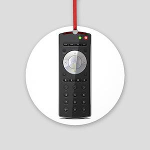 Universal TV Remote Control Ornament (Round)