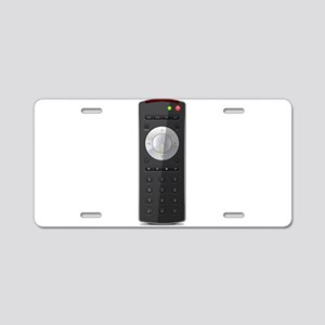 Universal TV Remote Control Aluminum License Plate