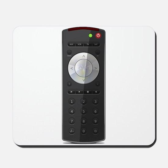 Universal TV Remote Control Mousepad