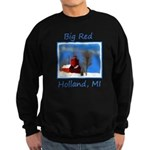 Big Red Lighthouse, Holland, MI Sweatshirt (dark)