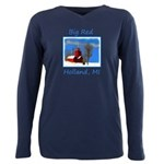 Big Red Lighthouse, Holl Plus Size Long Sleeve Tee