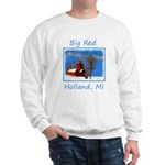 Big Red Lighthouse, Holland, MI Sweatshirt
