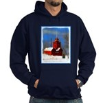 Big Red Lighthouse, Holland, MI Hoodie (dark)