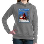 Big Red Lighthouse, Holl Women's Hooded Sweatshirt