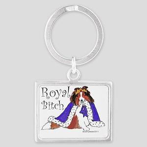 Royal Bitch Landscape Keychain