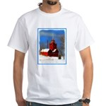 Big Red Lighthouse, Holland, MI White T-Shirt