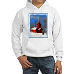 Big Red Lighthouse, Holland, MI Hooded Sweatshirt