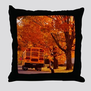 School Days Throw Pillow