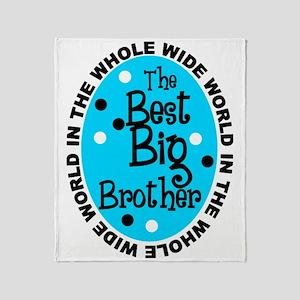 big bro Throw Blanket