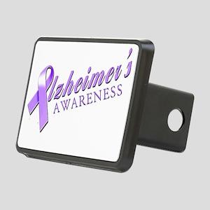 Alzheimers Awareness Rectangular Hitch Cover