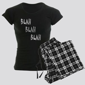 Blah3 Women's Dark Pajamas