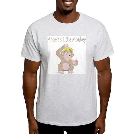 Abuelas Little Monkey Light T-Shirt