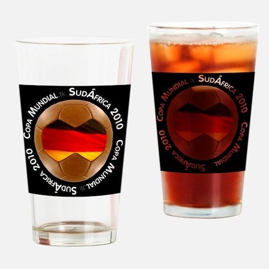 germany lg black Drinking Glass