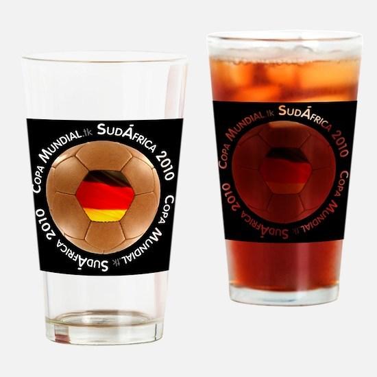 germany sm black Drinking Glass