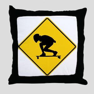 DH. Throw Pillow