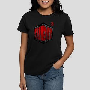 Cubed Cubed Tshirt Women's Dark T-Shirt
