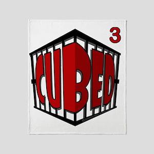 Cubed Cubed Tshirt Throw Blanket