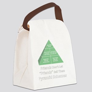 4-shirt-pyramid-white-lettering Canvas Lunch Bag