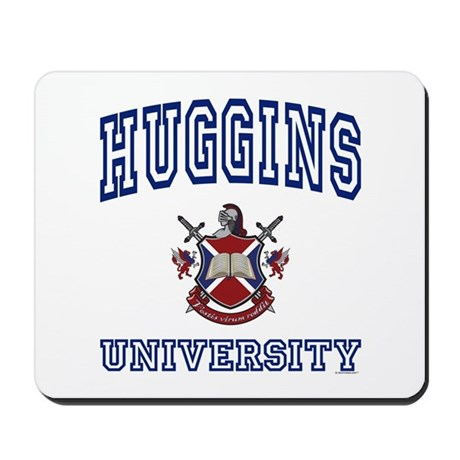 HUGGINS University Mousepad