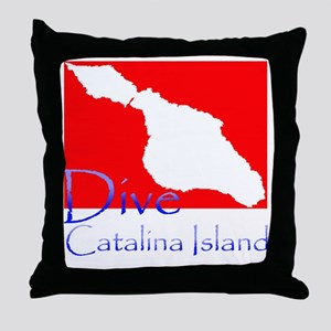 Dive CI 1 Throw Pillow
