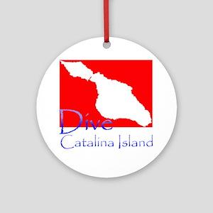 Dive CI 1 Round Ornament