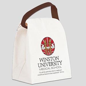 Winston uni quote Canvas Lunch Bag