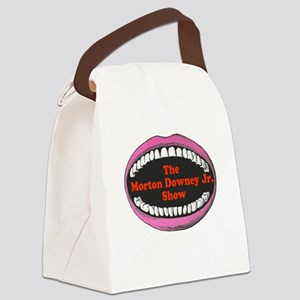 zipitloudmouth2 Canvas Lunch Bag