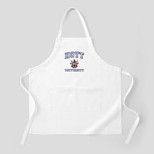 HOYT University BBQ Apron