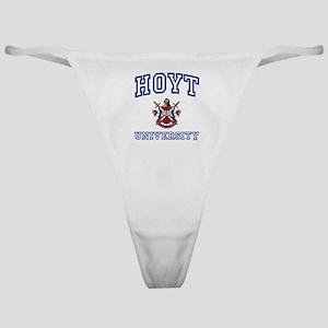 HOYT University Classic Thong