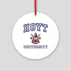 HOYT University Ornament (Round)