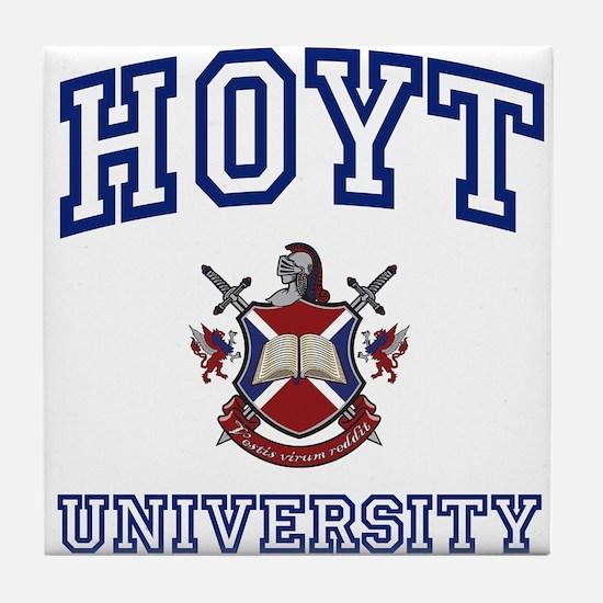 HOYT University Tile Coaster