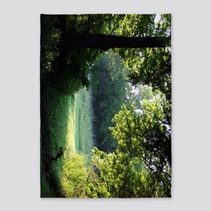 Sunlit Clearing Poster2 5'x7'Area Rug