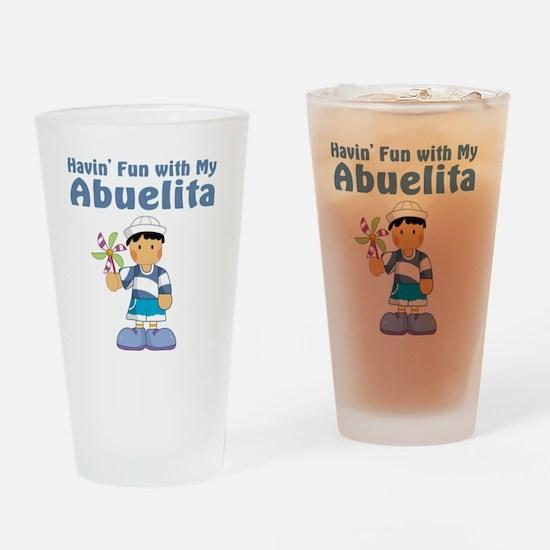 fun with abuelita Drinking Glass
