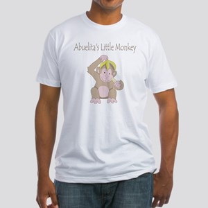 little monkey Fitted T-Shirt