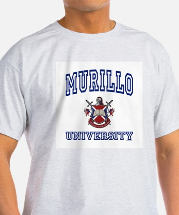 MURILLO University Ash Grey T-Shirt
