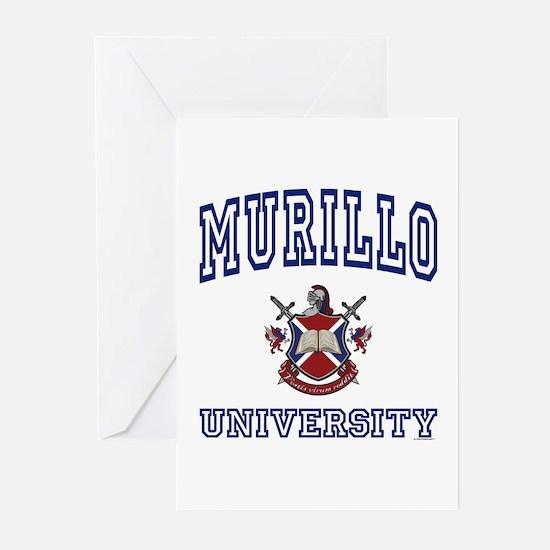 MURILLO University Greeting Cards (Pk of 10)