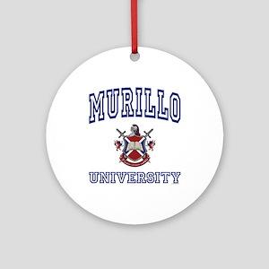 MURILLO University Ornament (Round)