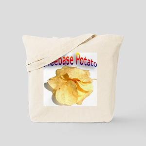 2-freebasepotato copy Tote Bag