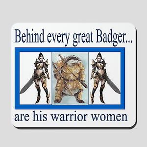 warrior women lg Mousepad