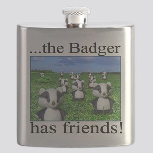 2-badger has friends Flask